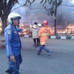 Pasar kalitanjung terbakar