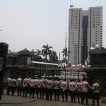 Polisi Jaga Proses Pemeriksaan Amien Rais