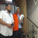 Ratna Sarumpaet usai diperiksa di Polda Metro Jaya.