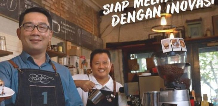 Gubernur Jawa Barat Ridwan Kamil akan ngopi bareng warga Bandung, Jumat (12/10) sore./Foto: jpc