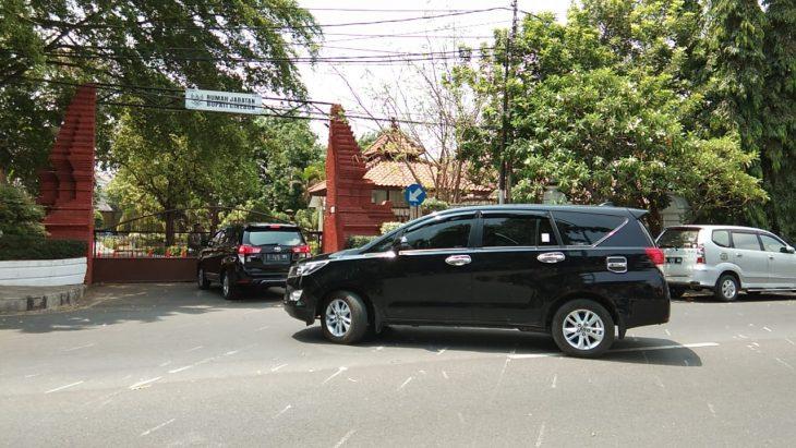 Rombongan KPK di Cirebon
