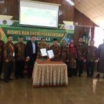 Seminar nasional tentang bisnis dan enterpreneurship di era digital 4.0 di UIKA Bogor. (adi)