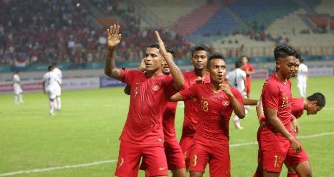 Pemain timnas Indonesia.