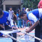 Lomba PMR yang diselenggarakan di SMPN 21  Bekasi. (ist)
