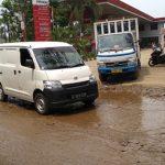 Jalan Rusak di Kabupaten Bogor. Istimewa
