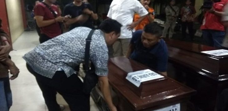 Jenazah bayi Kyara korban Lion Air./Foto: jpc