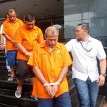 Para pelaku yang diamankan polisi karena menipu Ratna Sarumpaet