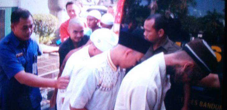Pelaku Pembunuhan Haringga Sirla./Foto: Arief Pratama