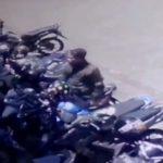 Pelaku curanmor yang terpantau CCTV di depan GOR Pajajaran Kota Bogor