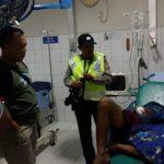 Pelaku curas atau begal di jalur Pantura yang dirawat di RS. (kirno)