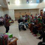 Peserta Bogorku Bersih menjalani briefing di Sekretariat Bogorku Bersih. (ist)
