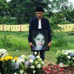 Pramugari Mery Yulyanda, korban Lion Air JT 610 saat dimakamkan.