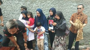 Proses pemakaman korban Lion Air JT 610 Junior Priadi
