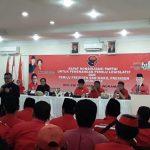 Sekjen PDIP Hasto Kristiyanto di Indramayu