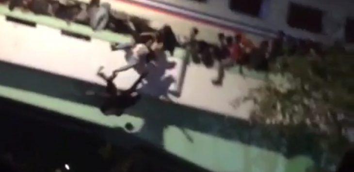 Tragedi pada Teatrikal Surabaya Membara, Jumat (9/11/2018)./Foto: Istimewa