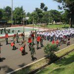 SMPN 1 Kota Bogor sejak  mengikuti kegiatan implementasi program kesiswaan di markas komando yonif 315 Garuda, gunung Batu.