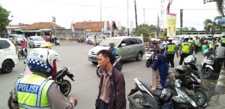 Operasi Zebra Lodaya 2018 di Kabupaten Cirebon.