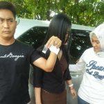 Foto penangkapan caleg cantik dapil 3 Kuningan Jawa Barat