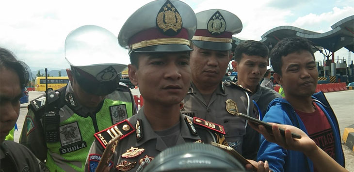Kasatlantas Polres Cirebon AKP Akmat Troy Aprio (Kir/pojokjabar)