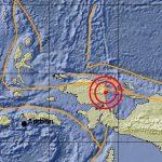Gempa di Irian Jaya Region Indonesia