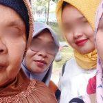 Foto terakhir Ruhyatun bersama keluarganya di Purbalingga (fb)