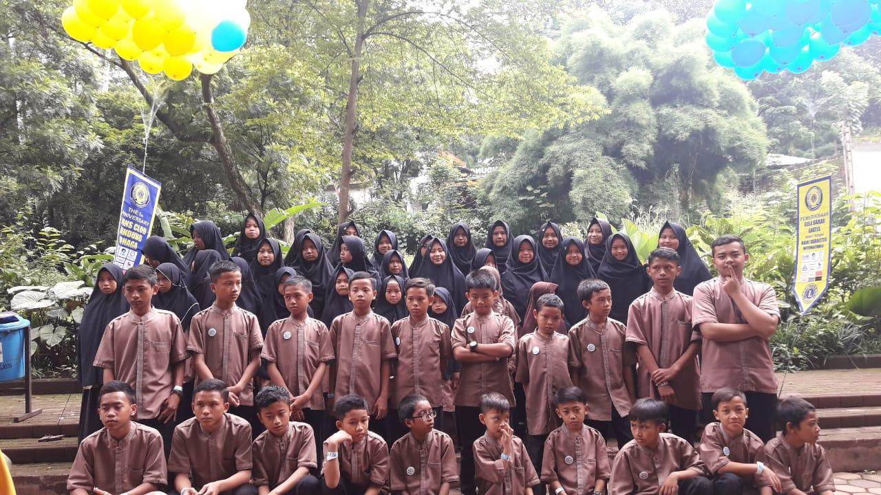 Anak-anak Panti Asuhan Rumah Yatim./Foto:  Lions Club Bandung Tohaga
