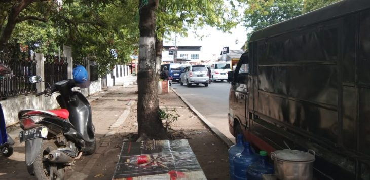 Lokasi Ruhyatun, korban pembunuhan di Cirebon berjualan./Foto: Kirno
