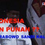 Capres Prabowo saat oprasi politik di hadapan ribuan kader Partai Gerindra, siang tadi.