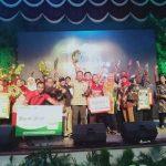 Para pemenang Bogorku Bersih 2018 bersama Walikota Bogor Bima Arya (RB)