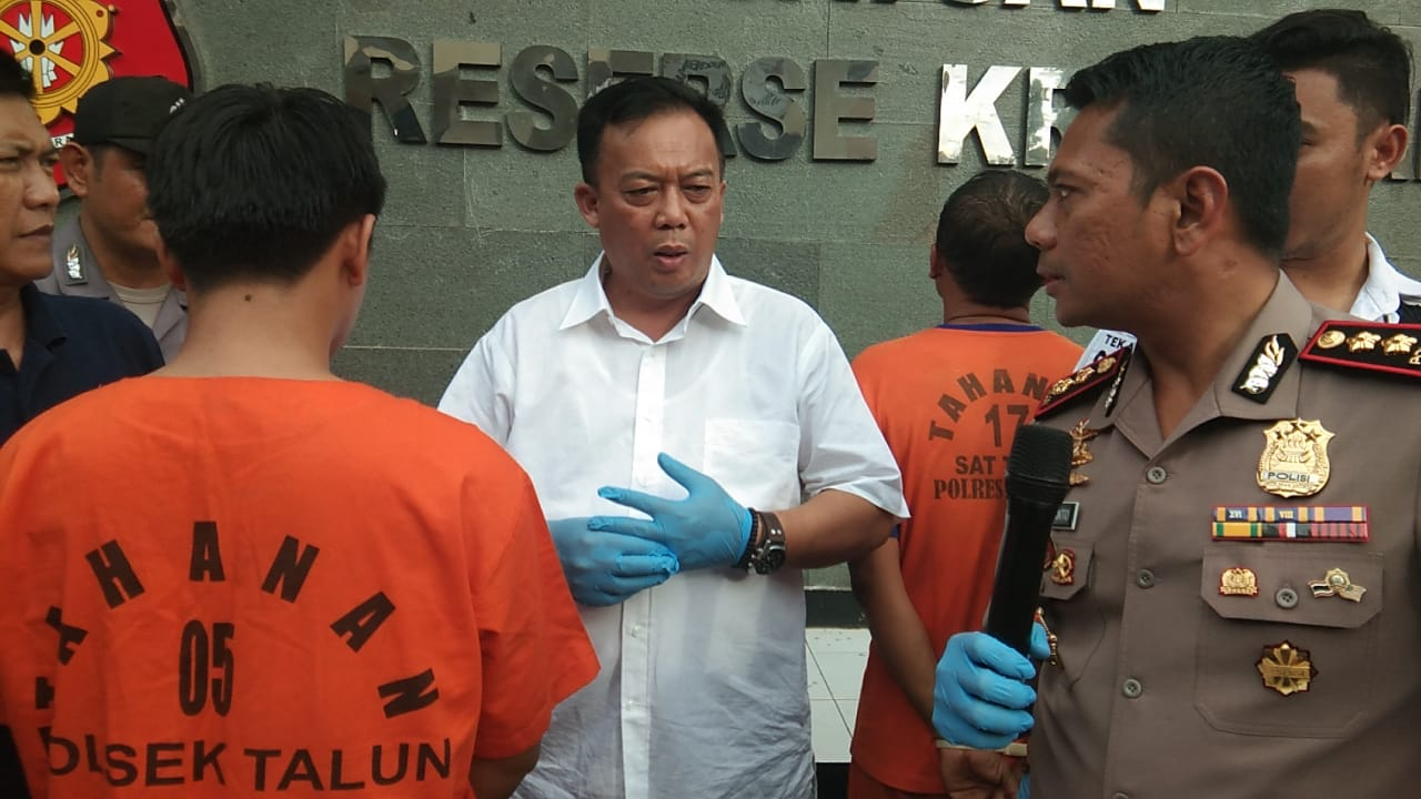 Erwin Sahputra pelaku pembunuh Ruhyatun di Cirebon