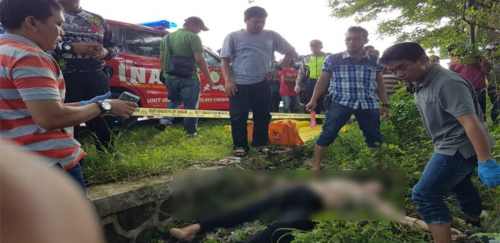 Penemuan mayat perempuan korban pembunuhan di Kabupaten Cirebon.