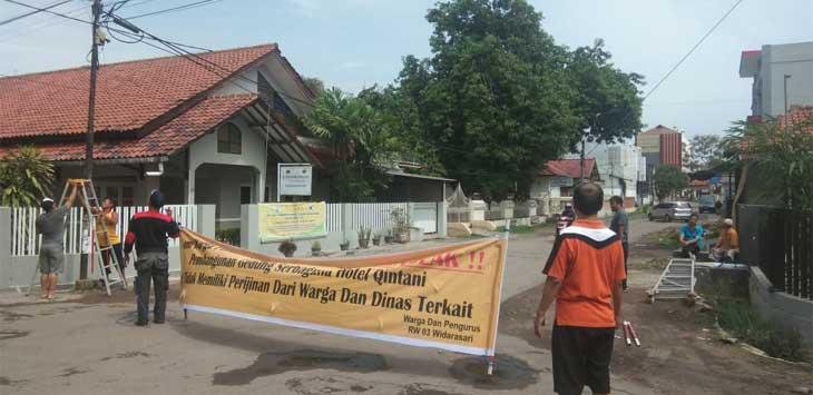 Penolakan Pembangunan Gedung Serbaguna-Hotel Qintani