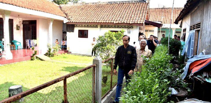Presiden Jokowi nyalakan listrik warga di Bogor./Foto: Istimewa