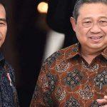 Presiden Jokowi dan SBY
