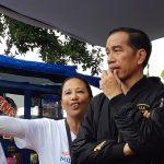 Presiden Jokowi di Kelurahan Bantarjati, Minggu (2/12/2018)./Foto: Maryam