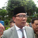 Ridwan Kamil ketika berada di Bogor (foto adi)