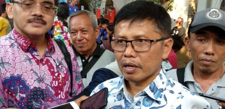 Sekertaris Daerah (Sekda) Kota Cirebon, Asep Dedi, saat memberikan keterangan./Foto: Alwi