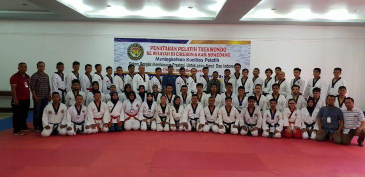 Taekwondo Indonesia Kota Cirebon gelar penataran pelatih (ist)