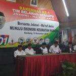 Tim Relawan Bersatu gelar rapat kerja nasional (rakernas) ke-1, pada Rabu (12/12/2018) di Hotel Lingga, Jawa Barat. Istimewa