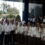 Menteri Perhubungan saat berkunjung ke STTD di Kabupaten Bekasi. Foto : Istimewa
