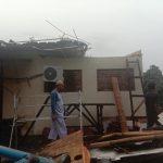 Kerusakan di Bogor Barat dan Tanah Sareal akibat puting beliung Sabtu sore (adi)