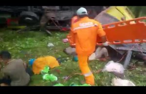 Korban kecelakaan lalu lintas di Tol Cipularang KM 71 (ist)