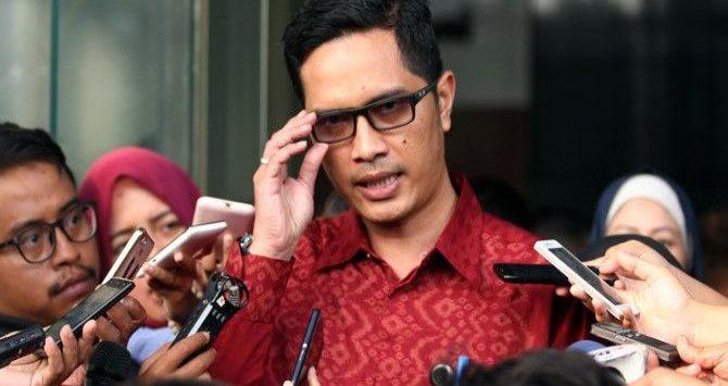 Juru bicara Komisi Pemberantasan Korupsi (KPK) Febri Diansyah. (Dery Ridwansyah/JawaPos.com)