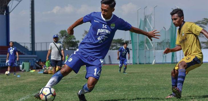 OPTIMIS: Gelandang muda Persib Bandung, Agung Mulyadi optimis bisa meraih banyak target di musim 2019. Ist