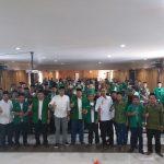 Anggota Komisi IV DPR RI, Ono Surono (tengah) bersama PC GP Ansor Indramayu (ist)