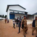 DLH Kabupaten Bogor saat mengunjungi pabrik gas amonia Gunung Sindur (rishad)