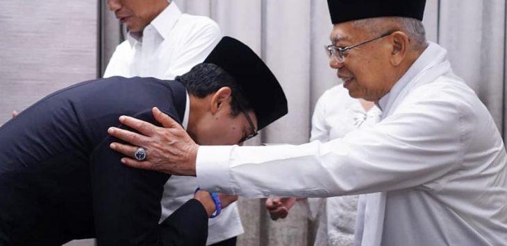 Momen debat Capres Cawapres pertama yang digelar KPU di Hotel Bidakara Jakarta (ist)