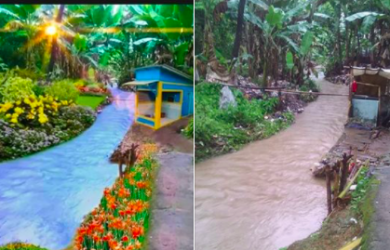 Lagi Viral Banyak Warganet Minta Edit Foto Sungai Yang Kumuh Di