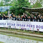 Insan pers atau jurnalis Bogor sambut Hari Pers Nasional (HPN) 2019 (adi)
