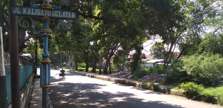 Jalan Kalibaru Selatan, Kota Cirebon, yang diduga tempat prostitusi (Alwi)
